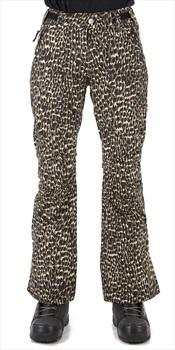 Wearcolour Blaze Women's Ski/Snowboard Pants S Forest Leo