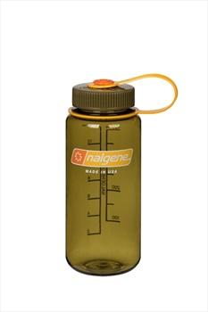 Nalgene Wide Mouth Tritan Water Bottle, 16oz Olive