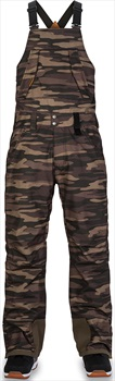 Dakine Wyeast Bib 2-Layer Shell Ski/Snowboard Pants, S Field Camo