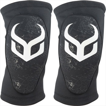 Demon Soft Cap Pro Ski/Snowboard Knee Pads XL Black/White