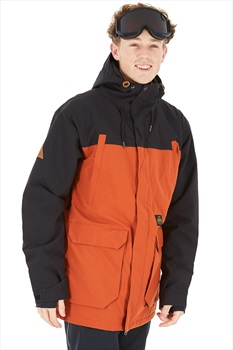 Horsefeathers Cordon Ski/Snowboard Jacket, L Brick