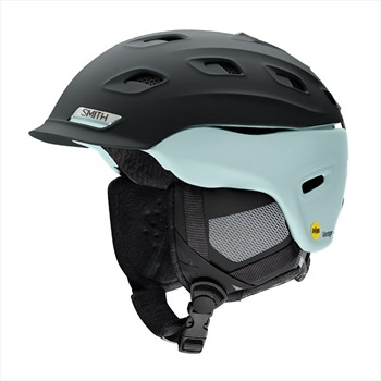 Smith Vantage MIPS Women's Snowboard/Ski Helmet, S Black/ Pale Mint