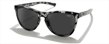 Zeal Bennett Dark Grey Sunglasses, Slate Tortoise