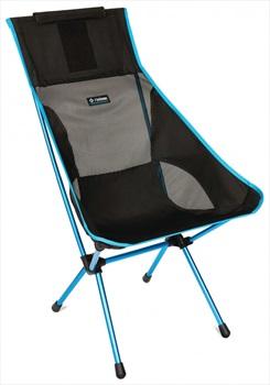 Helinox Sunset Chair Lightweight High Back Camp Chair, Black