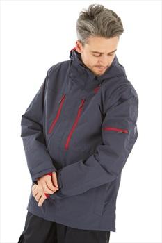 Scott Ultimate Dryo10 Insulated Snowboard/Ski Jacket, M Blue Nights