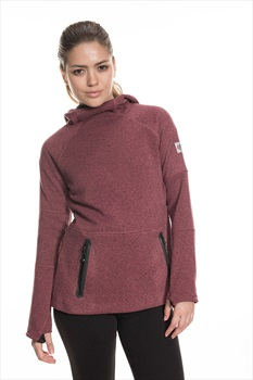 686 Knit Tech Women's Fleece Hoody, S Crushed Berry Melange