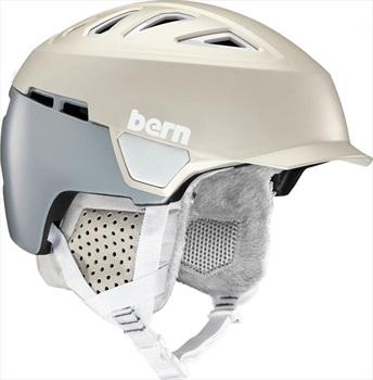 Bern Heist Brim Winter Snowboard Helmet, S Grey
