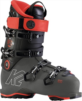 K2 BFC 100 GW Ski Boot, 28.0/28.5 Grey/Red 2020