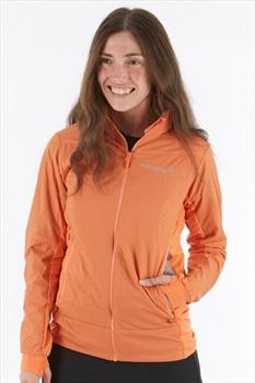 Norrona Falketind Octa Women's Insulated Jacket, XS Flamingo