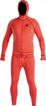 Airblaster Merino Ninja Suit Thermal Base Layer, M Fire
