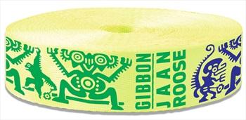 Gibbon Slamina Webbing Slackline, 25m X 50mm, Yellow