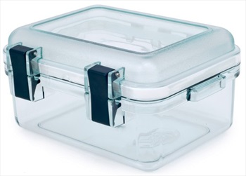 GSI Outdoors Lexan Gearbox Crushproof Travel Storage Case, S Clear