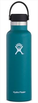 Hydro Flask 21oz Standard Mouth With Flex Cap Water Bottle, 21oz Jade