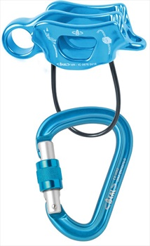 Beal Air Force 3 & Air Force 3 Rock Climbing Belay Device Set, Blue