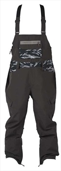 Sessions Bleach Bib Ski/Snowboard Pants, L Black