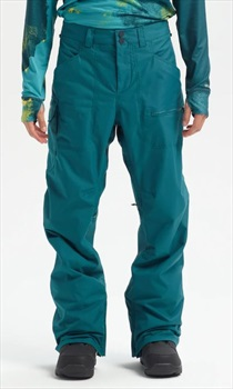 Burton Covert Snowboard/Ski Pants, XS Deep Teal 2020