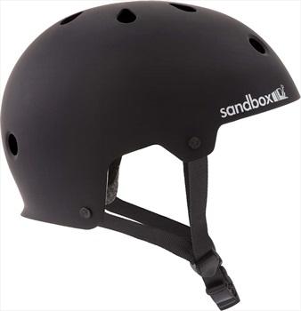 Sandbox Adult Unisex Legend Low Rider Helmet, L Matte Black