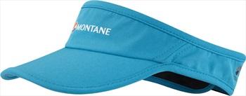 Montane Via Quick Dry Trail Running Sun Visor, Cerulean Blue