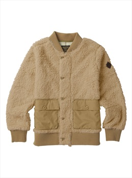 Burton Women's Shawmut Full-Zip Fleece Jacket, S Pebble