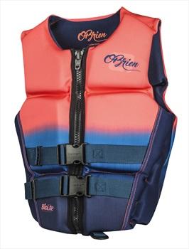 O'Brien Flex V-Back Ladies Buoyancy Aid Impact Vest, L Coral