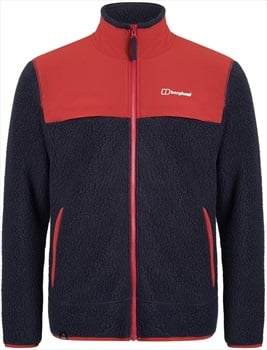 Berghaus Syker Full-Zip Polartec Thermal Fleece Jacket, S Dusk/Red