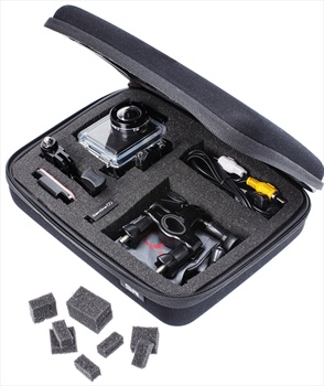 SP Customisable POV Action Camera Carry Case, Small, Black