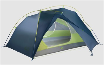 Jack Wolfskin Exolight 3 Ultralight Trekking Shelter, 3 Man Steel Blue