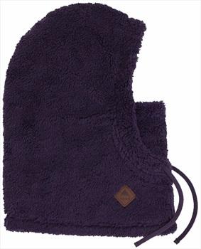 Burton Lynx Sherpa Fleece Facemask Ski/Snowboard Hood OS Purple Velvet