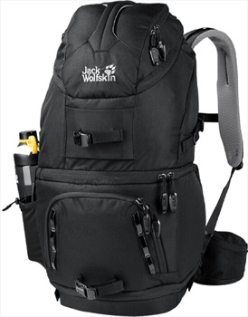 Jack Wolfskin ACS Photo Pack Pro 30 Outdoor Photography Pack, Black