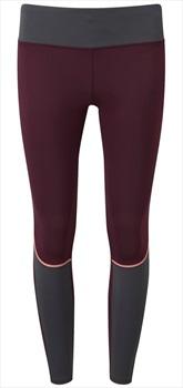 Tribe Sports Running Tight Women's Leggings, UK 12 Burgundy