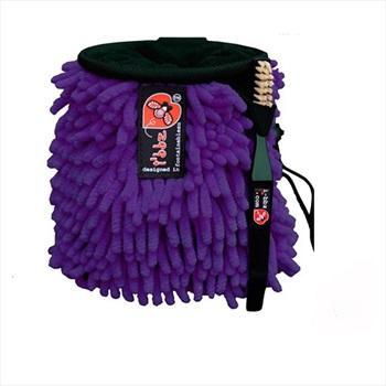 i'bbz Rasta Rock Climbing Chalk Bag, Purple