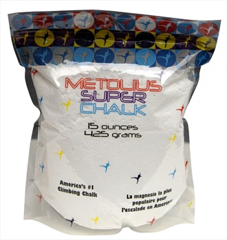 Metolius Super Chalk Rock Climbing Chalk, 425g, White