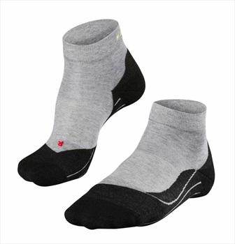 Falke RU 4 Short Men's Low Cut Running Socks UK 11-12.5 Light Grey