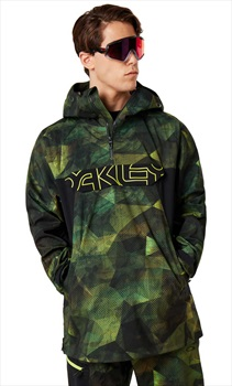 Oakley Black Forest 3L 15K Shell Ski/Snowboard Jacket, M Geo Camo