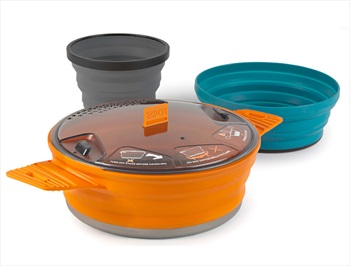 Sea to Summit X-Set 21 Camping & Backpacking Cookset 21 Multi Coloured