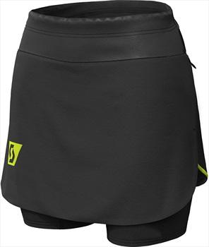 Scott RC Run Women's Running Skort, XS Black/Yellow