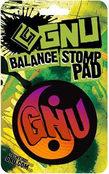 GNU Balance Snowboard Stomp Pad, Green