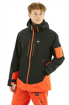 Picture Track Ski/Snowboard Jacket, XL Black