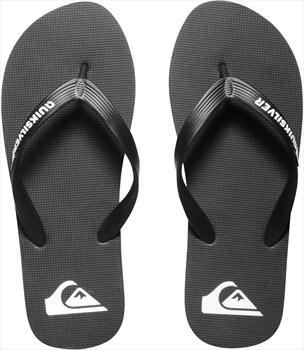 Quiksilver Molokai Flip Flops, UK 6, Black