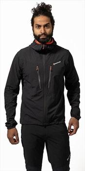 Montane Alpine Edge Jacket Hiking/Climbing Softshell, L Black