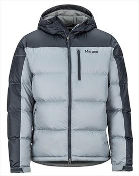 Marmot Guides Down Hoody Men's Down Jacket, M Grey Storm/Dark Steel