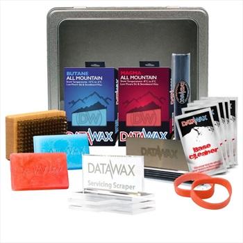 DataWax Tune Kit Intermediate Ski/Snowboard Servicing Tin, OS