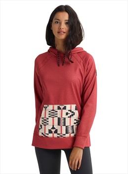 Burton Crown Bonded Pullover Women's Hoodie, M Sienna Heather