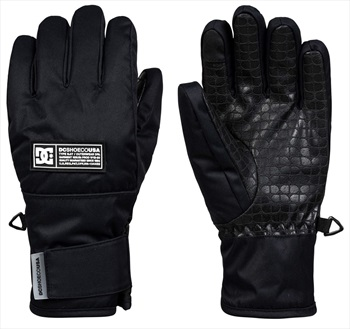 DC Franchise Youth Ski/Snowboard Gloves, M Black