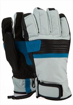 Analog Diligent Ski/Snowboard Gloves, L Aqua Grey