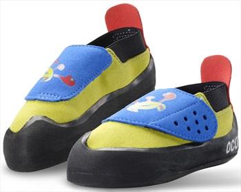 Ocun Hero Kid's Rock Climbing Shoe EU 33, UK 1 Green/Blue