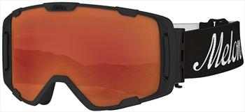 Melon Parker Red Chrome Snowboard/Ski Goggle, M/L Black