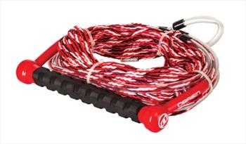 O'Brien Deep V Waterski Rope Handle Combo, 70' Red