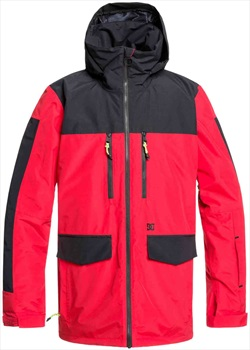 DC Company Ski/Snowboard Jacket, M Racing Red