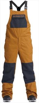 Airblaster Freedom Bib Ski/Snowboard Pants, L Grizzly
